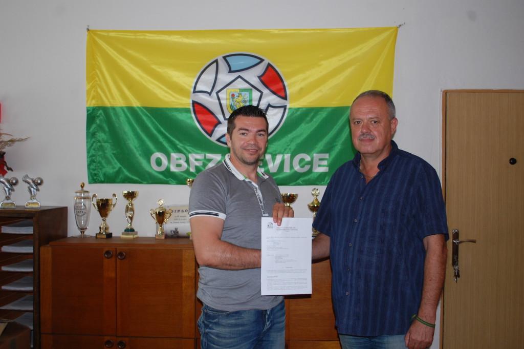 ObFZ Levice má na 2 roky nového partnera.
