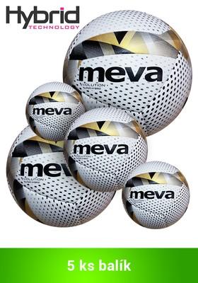 Produkt Futbalová lopta na zápas –  MEVA EVOLUTION SUPER HYBRID/Balík 5ks
