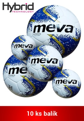 Produkt Futbalová lopta na tréning – MEVA STRIKE SUPER HYBRID balík/10ks