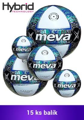 Produkt Futbalová lopta na zápas – JUNIOR MEVA MAGIC SUPER HYBRID Balík/15ks