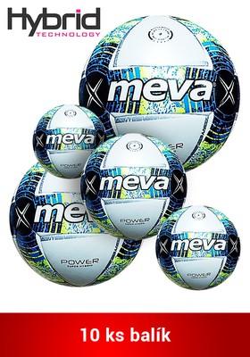 Produkt Futbalová lopta na zápas – MEVA POWER SUPER HYBRID Balík/10ks