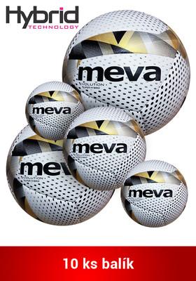 Produkt Futbalová lopta na zápas – MEVA EVOLUTION SUPER HYBRID/Balík 10ks